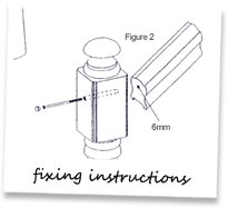 Fixing instructions