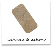 Materials & Sections